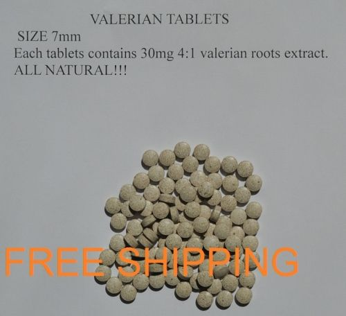 100000 tablets baldrian valeriana officinalis roots extract 4:1 x30mg